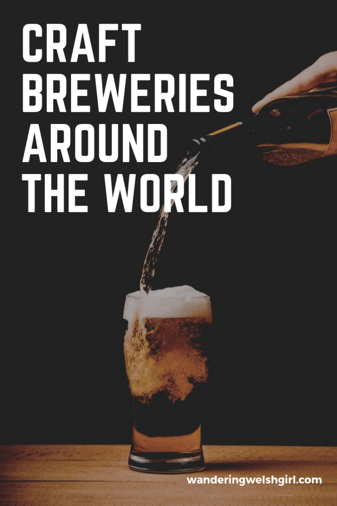 Food, beer and exploring all seem to go hand in hand with each other. For this reason I felt it was only right that I compile a list of my favourite craft breweries from around the world.