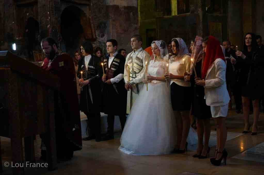 Traditional Georgian wedding
