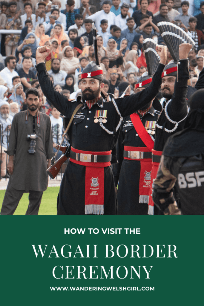 In this post I provide information on how to visit the Wagah border ceremony. This is a border closing ceremony performed by Pakistan and India.