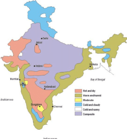 The differing climates of India are difficult to pack for