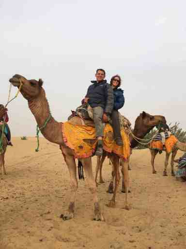 Exploring India on a camel safari
