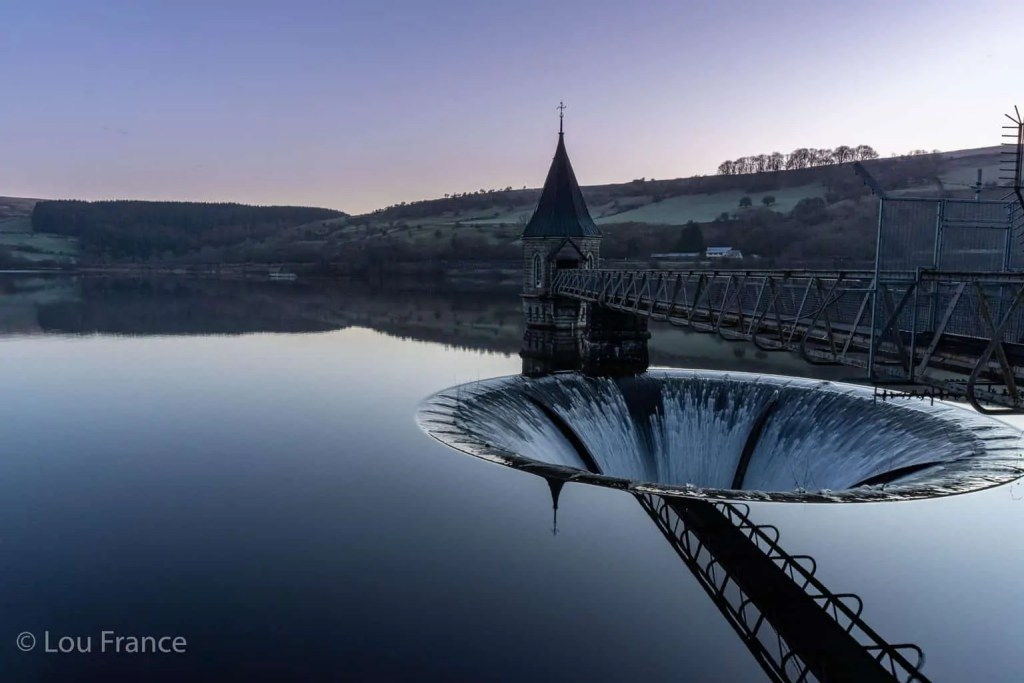 The Pontsticill reservoir at the end of a section of the Taf Trail is a top thing to do in Merthyr Tydfil
