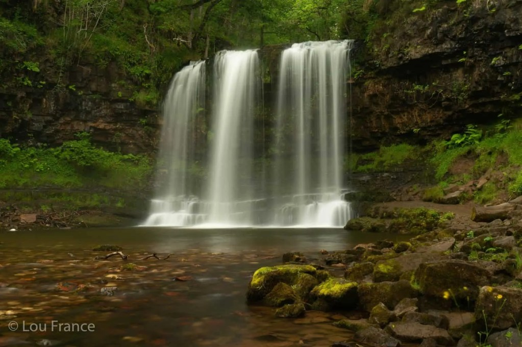 Sgwd yr Eira is the most famous Brecon Beacons waterfall