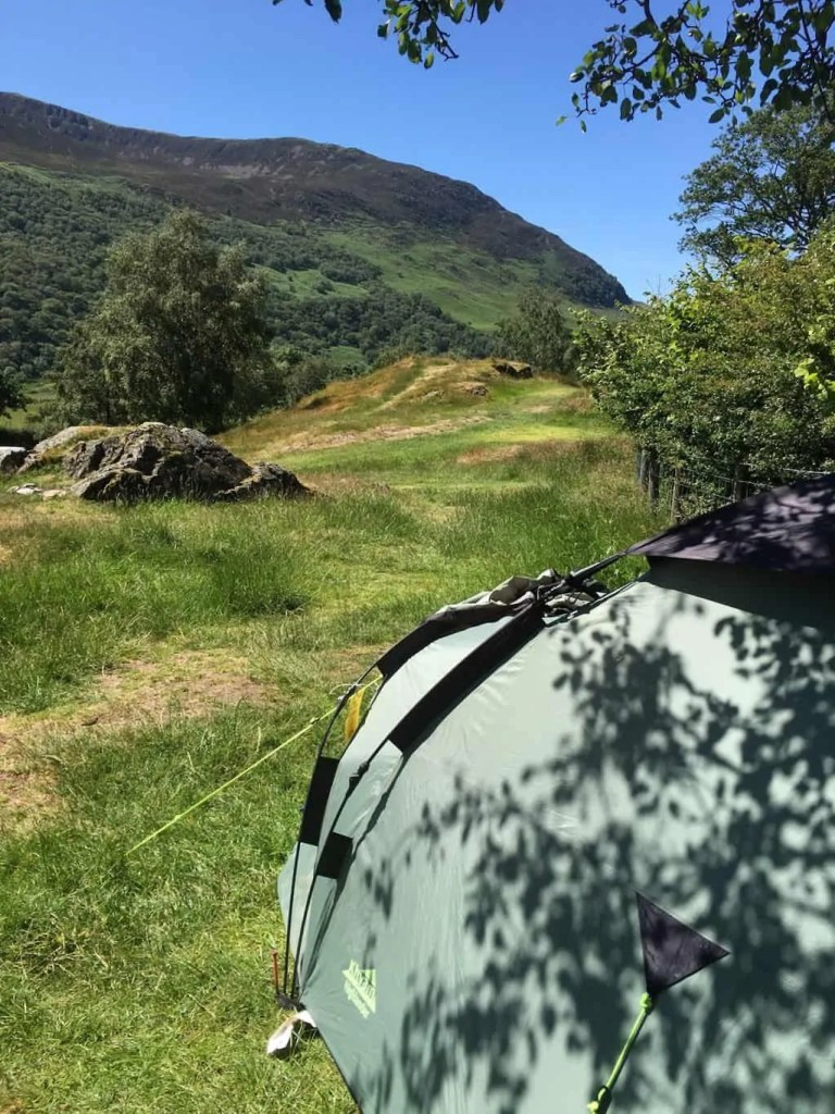 A tent is an essential item on your car camping checklist