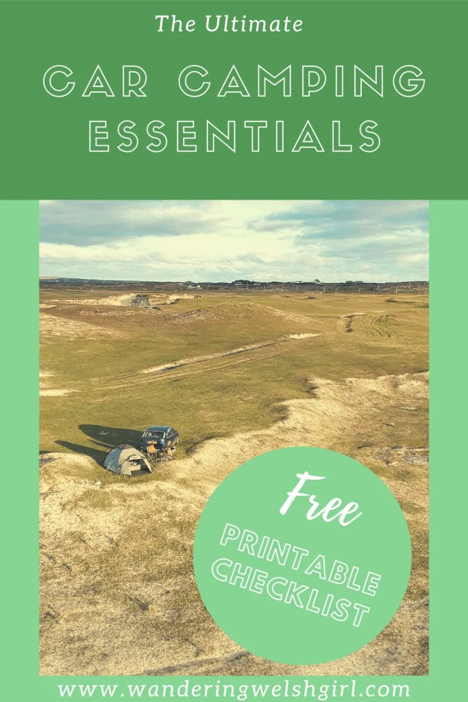 In this guide I provide useful car camping product reviews and a free, printable car camping checklist. This checklist is designed to help you prepare for your next outdoor trip.