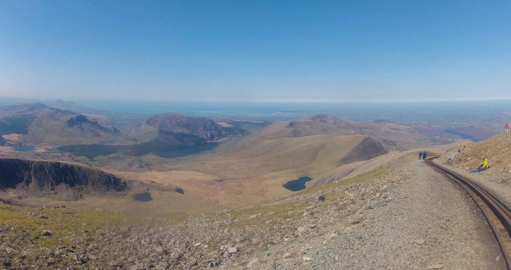 Llanberis path is the easiest Snowdon route
