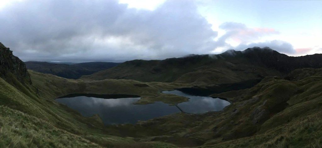 The Pyg track is a great Snowdon route for spectacular views