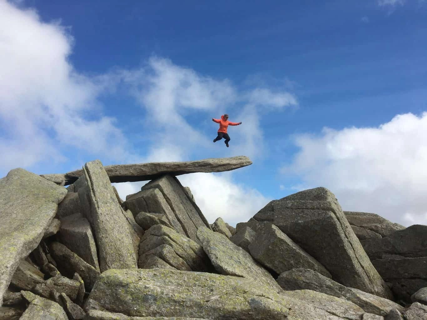 Walking routes to Glyder Fawr and Glyder Fach