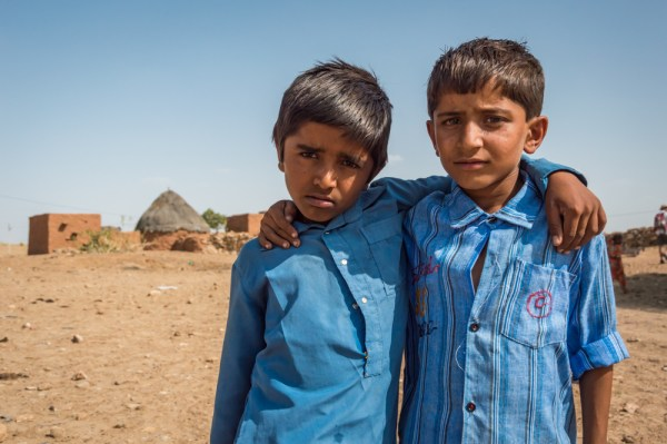 Muslim Boys, Jaisalmer, India