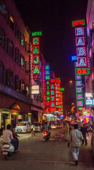 Neon Signs in New Delhi, India