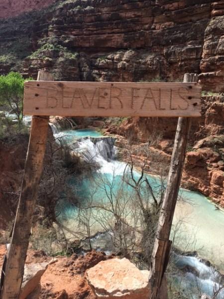 Beaver Falls Sign, Havasu Canyon, Arizona by Wandering Wheatleys
