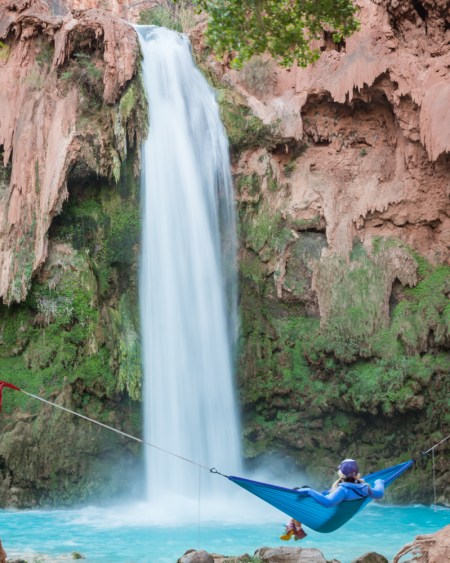 Hammock at Havasu Falls, Arizona by Wandering Wheatleys