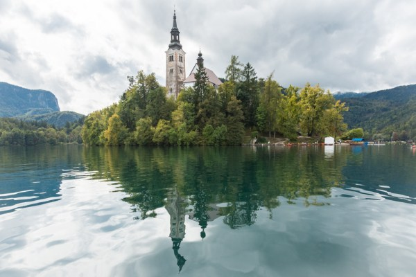 Reflections on Lake Bled, Slovenia by Wandering Wheatleys