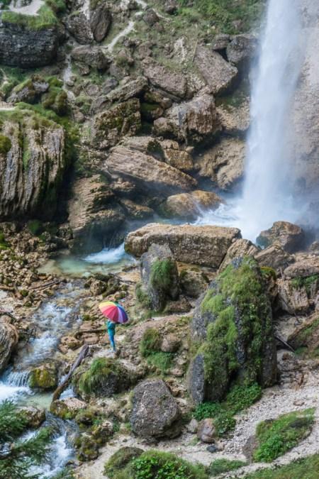 Peričnik Waterfall, Slovenia by Wandering Wheatleys
