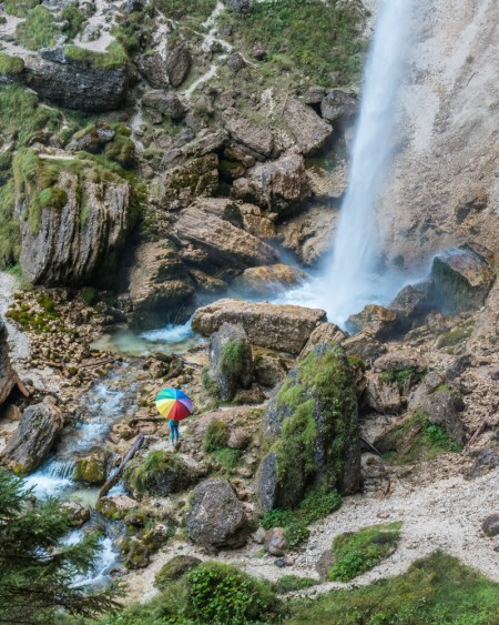 Pericnik Waterfall, Slovenia by Wandering Wheatleys