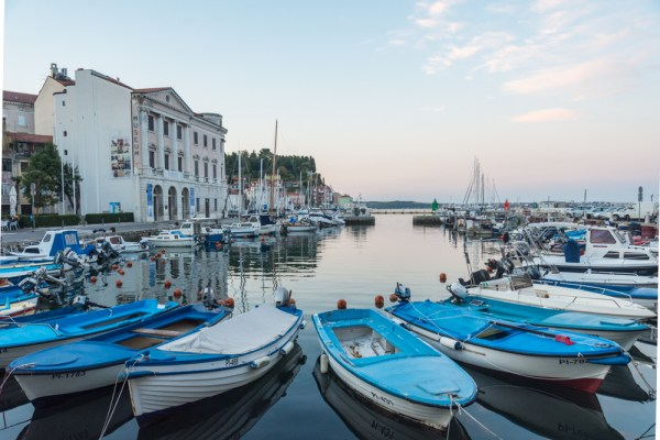 Piran, Slovenia at Sunrise by Wandering Wheatleys