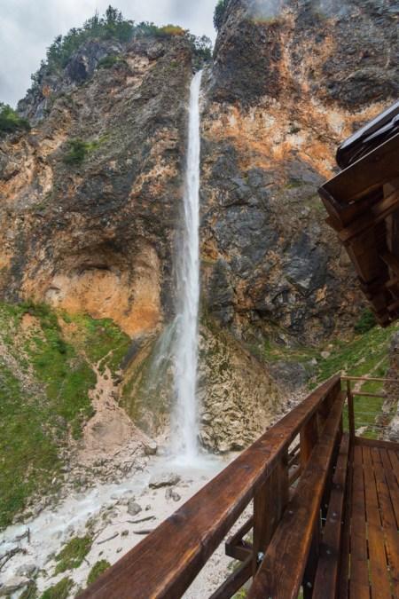 Rinka Waterfall in Logar Valley, Slovenia by Wandering Wheatleys