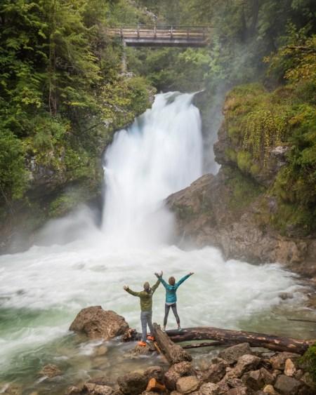 Šum Waterfall, Vintgar Gorge, Slovenia by Wandering Wheatleys