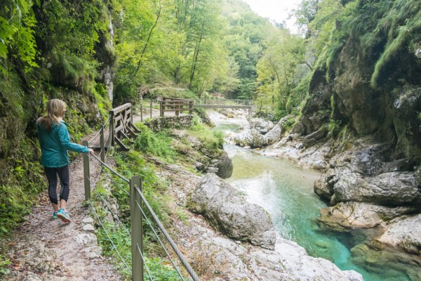 Hiking Tolmin Gorges, Slovenia by Wandering Wheatleys