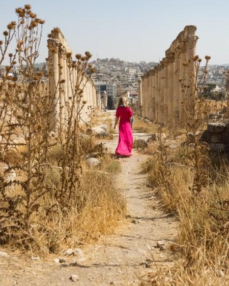 Wandering through Jerash, Jordan by Wandering Wheatleys