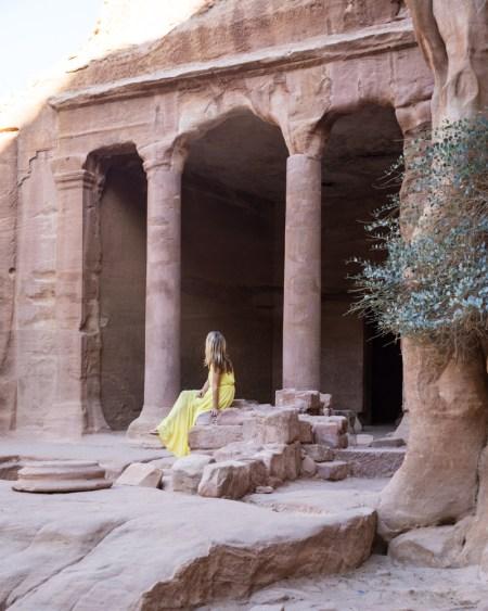Garden Triclinum, Petra, Jordan by Wandering Wheatleys