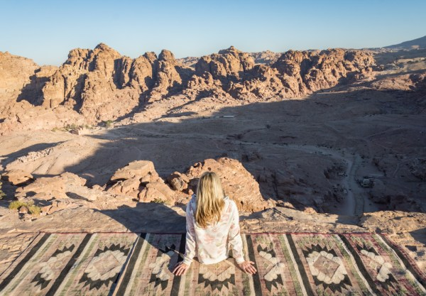 View from the High Place of Sacrifice, Petra, Jordan by Wandering Wheatleys