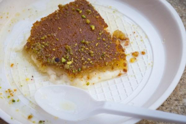 Knafeh from Habibah Sweets, Amman, Jordan by Wandering Wheatleys