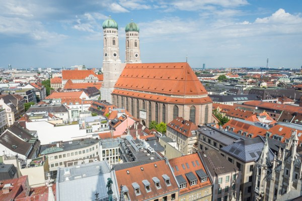 Skyline of Munich, Germany by Wandering Wheatleys