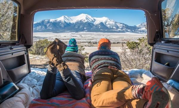 Van Life and Pendleton Blankets in Colorado by Wandering Wheatleys