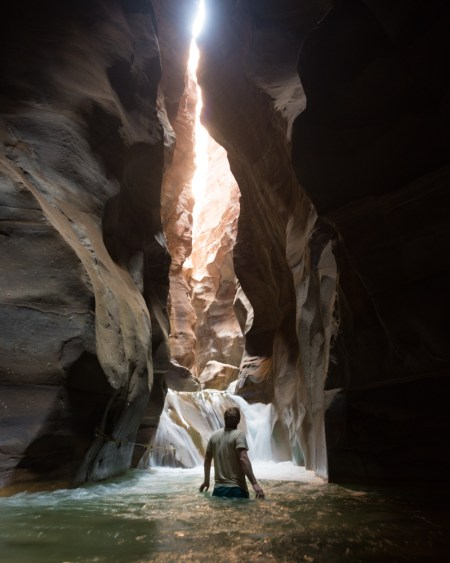 Hiking the Wadi Mujib Slot Canyon, Jordan by Wandering Wheatleys