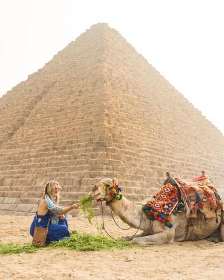 Menkaure's Pyramid, Giza, Egypt by Wandering Wheatleys
