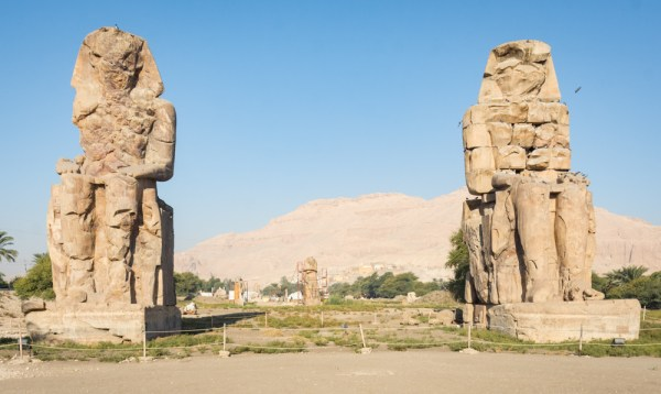Colossi of Memnon, Luxor, Egypt by Wandering Wheatleys
