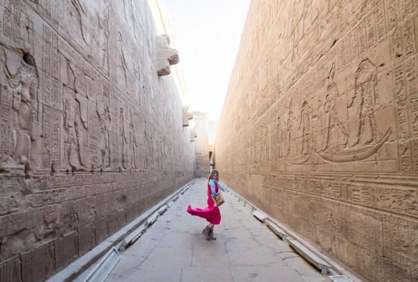 Edfu Temple, Egypt by Wandering Wheatleys