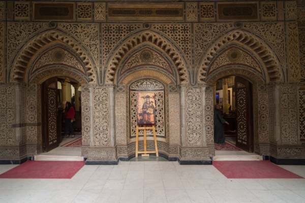 Hanging Church in Coptic Cairo, Egypt by Wandering Wheatleys