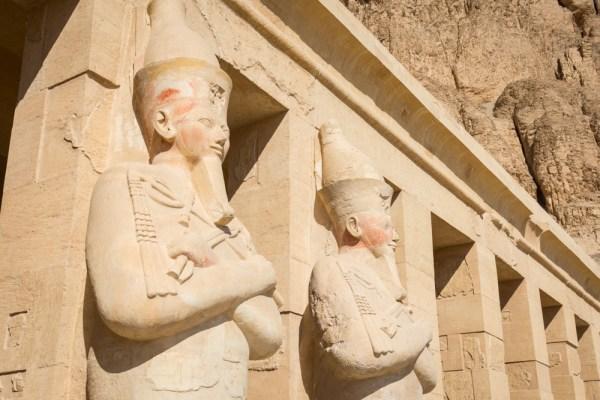 Al-Deir Al-Bahari Temple, Luxor, Egypt by Wandering Wheatleys