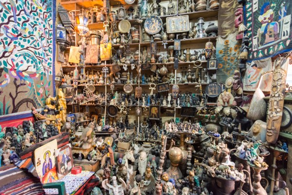 Aladdin's Hule in the souk of Luxor, Egypt by Wandering Wheatleys