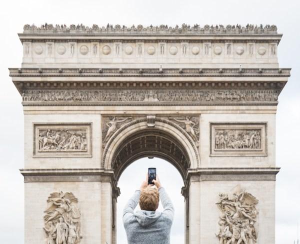 Arc de Triomphe, Paris, France by Wandering Wheatleys