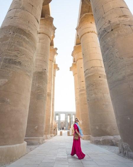 Luxor Temple, Luxor, Egypt by Wandering Wheatleys