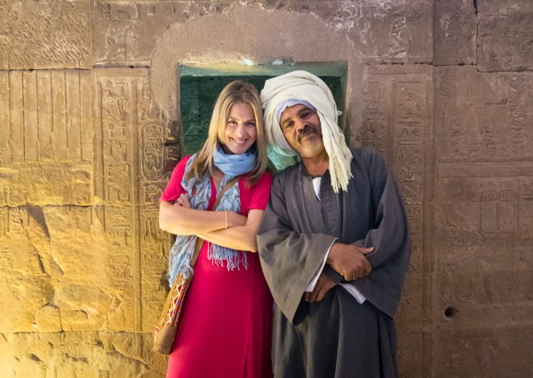 Temple guard in Egypt by Wandering Wheatleys