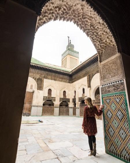 Bou Inania Madrasa, Fes, Morocco by Wandering Wheatleys