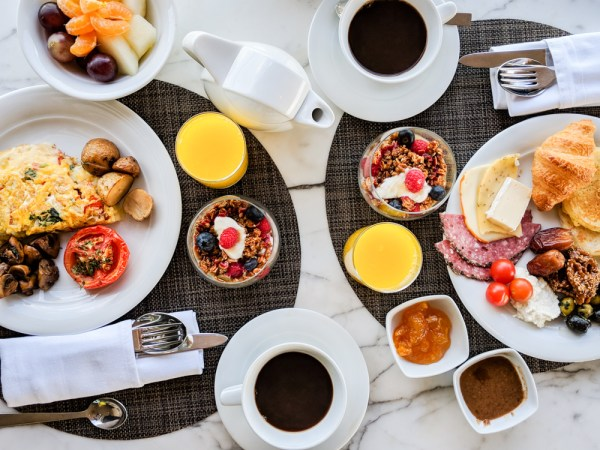 Breakfast at the Four Seasons Hotel, Casablanca, Morocco by Wandering Wheatleys
