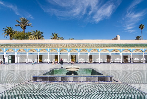 Courtyard of the Palace of Bahia, Marrakech, Morocco by Wandering Wheatleys
