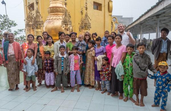 Friendly locals at Mount Popa, Myanmar by Wandering Wheatleys