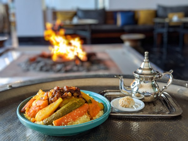 Lamb Couscous at Mint Restaurant, Four Seasons Hotel, Casablanca, Morocco by Wandering Wheatleys