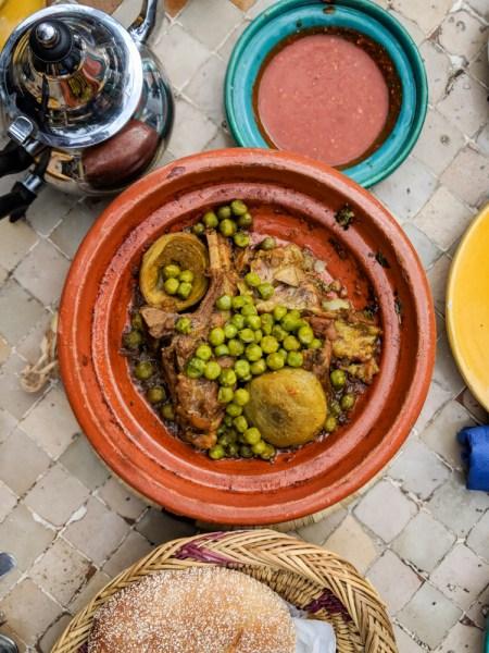 Lamb Tagine La Sqala Restaurant, Casablanca, Morocco