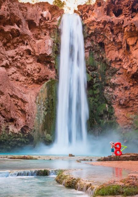 Money Falls in Havasu Canyon, Arizona by Wandering Wheatleys
