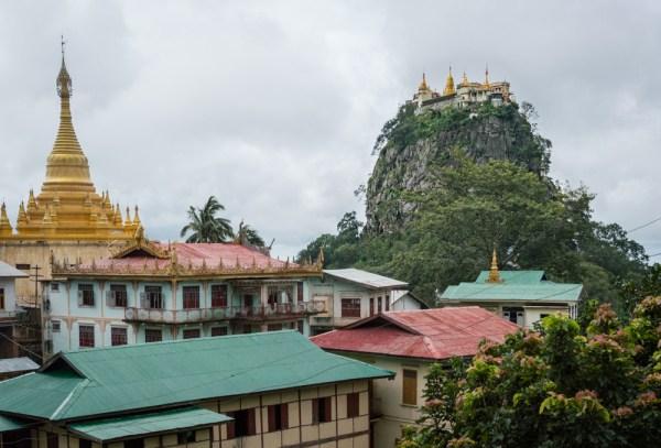 Mount Popa, Myanmar by Wandering Wheatleys