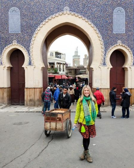 Bab Boujloud, Fes, Morocco by Wandering Wheatleys