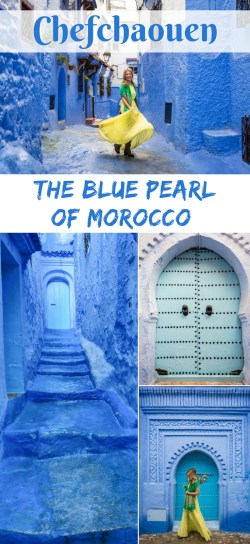 Chefchaouen, The Blue Pearl of Morocco by Wandering Wheatleys