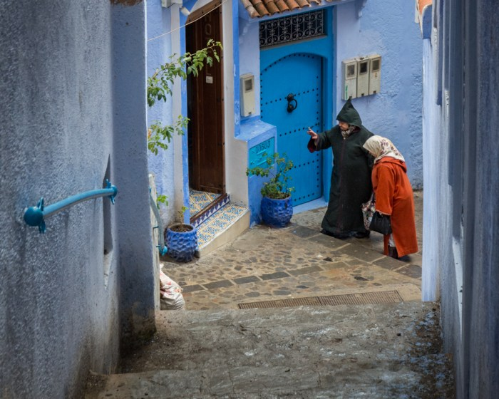 Chefchaouen, Morocco by Wandering Wheatleys